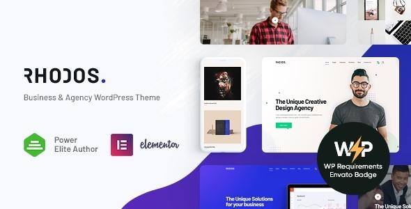 Rhodos - Multipurpose WordPress Theme for Business