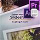 Golden Photo Slideshow / MOGRT - VideoHive Item for Sale