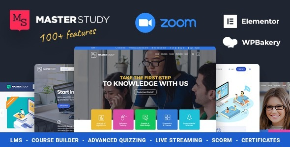 Education WordPress Theme - Masterstudy Nulled