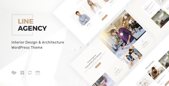 Exceptional Line Agency | Interior Design & Architecture WordPress Theme