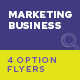 SEO and Marketing Service Flyers – 4 Options