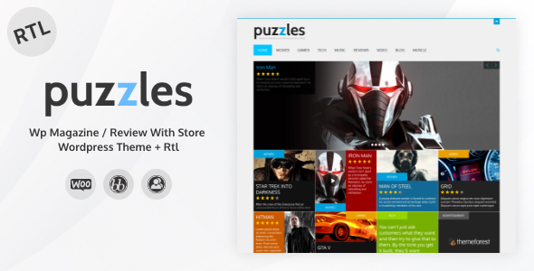 Extraordinary Puzzles | WP Magazine / Review with Store WordPress Theme + RTL