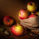 apples in a cloth bag - PhotoDune Item for Sale