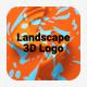Landscape 3D Logo - VideoHive Item for Sale