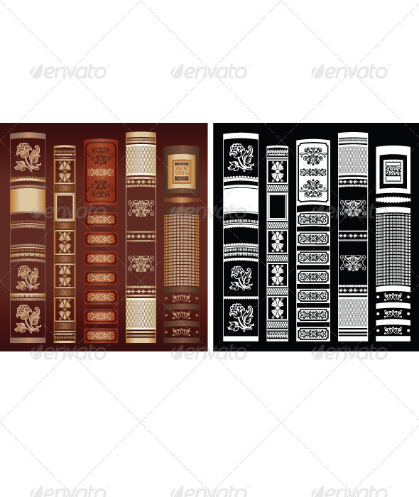 Book Background - Backgrounds Decorative