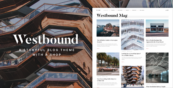 Download Westbound — A Storyful WordPress Blogging Theme Free Nulled