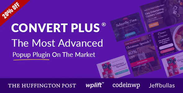 Popup Plugin For WordPress - ConvertPlus Nulled