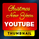 Youtube Thumbnail - Christmas & New year