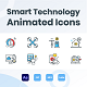 Animated Smart Technology Icons - VideoHive Item for Sale