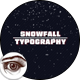 Snow 3D Typography Titles - VideoHive Item for Sale