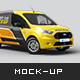 Ford Transit Connect Mockup