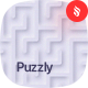 Puzzly - Neumorphism Maze Backgrounds