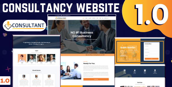 Consultancy Website with Admin Panel