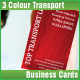Transport Company Business Card - GraphicRiver Item for Sale