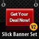 Slick Modern Banner Set v2.0 - GraphicRiver Item for Sale