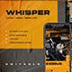 WHISPER - Streetwwear Instagram Stories & Post