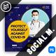 Covid-19 Social Media Post Template
