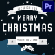 Christmas Snow Greetings | Premiere Pro MOGRT - VideoHive Item for Sale