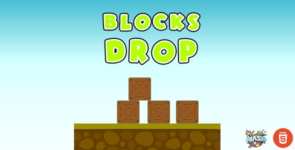 Blocks Drop - HTML5 Game - Phaser