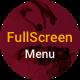 Diba Large Image Menu / Elementor Full Screen Menu Widget