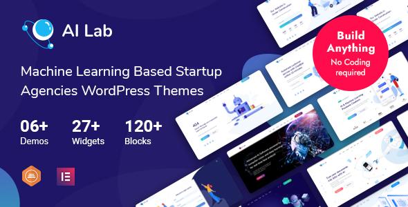 AI Lab - Machine Learning WordPress Theme