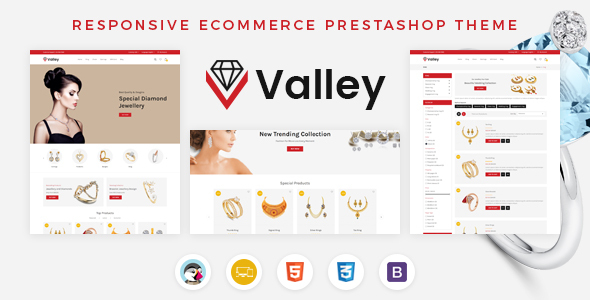 Valley - Jewellery Prestashop Responsive Theme