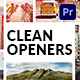 Clean Openers - VideoHive Item for Sale