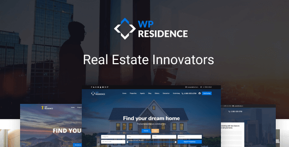 Excellent Residence Real Estate WordPress Theme