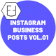 Instagram Business Posts Vol.01