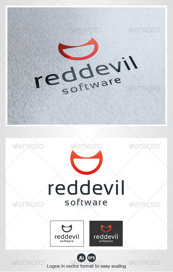 Red Devil Logo - Humans Logo Templates