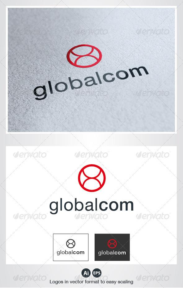 Global Com Logo - Symbols Logo Templates