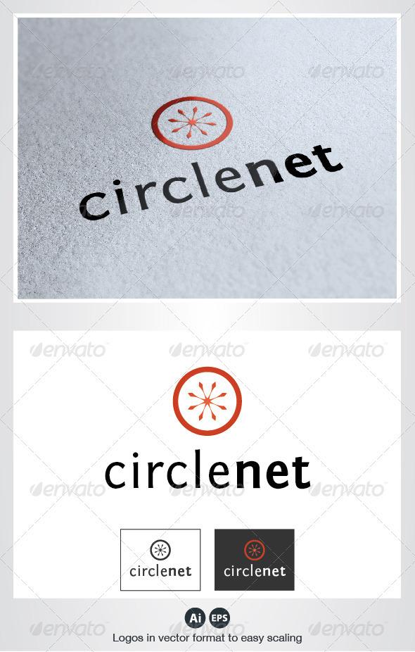 Circle Net Logo - Symbols Logo Templates
