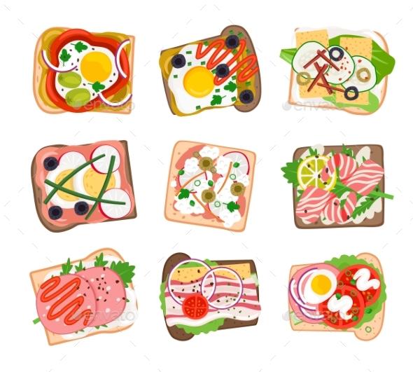 Tasty Sandwich Set