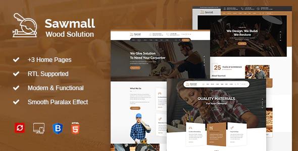 Good Sawmall - Carpenter and Craftman HTML Template