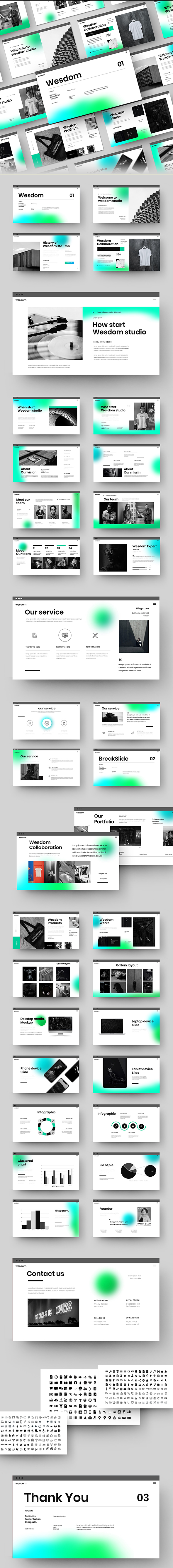 Wesdom – Business Google Slides Template