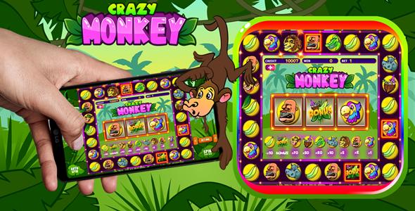 Casino Crazy Monkey HTML5 Game