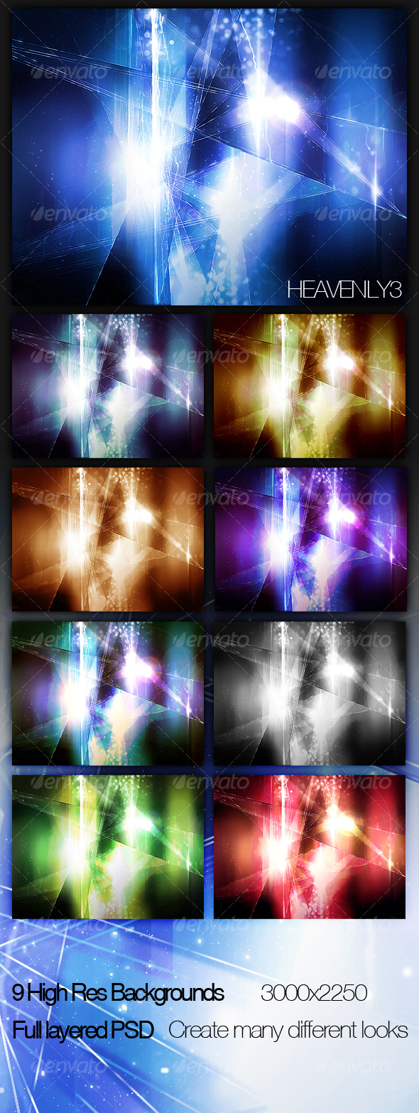 Heavenly Background 3 - Backgrounds Graphics
