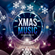 Xmas Music Festival Photoshop Flyer Template