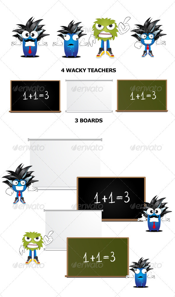 Character Teaching - Vectors