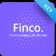 Finco Finance Keynote Template