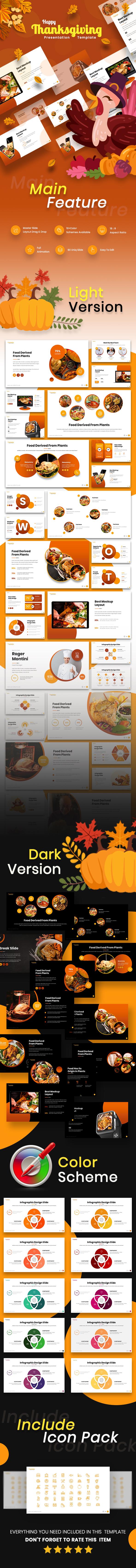 Happy Thanksgiving Keynote Template