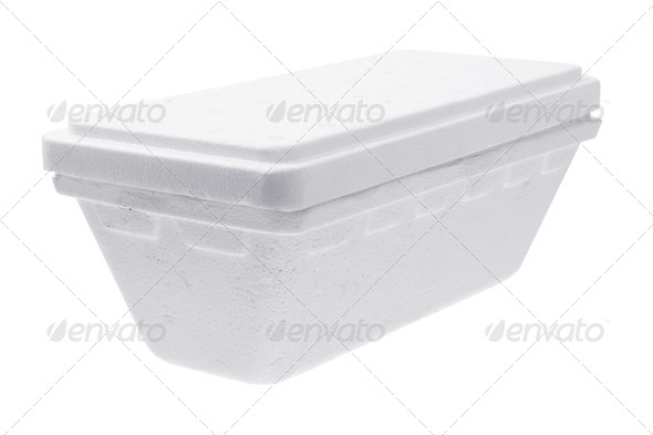 Styrofoam Box - Stock Photo - Images