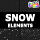 Cartoon Snowflakes Pack | FCPX - VideoHive Item for Sale