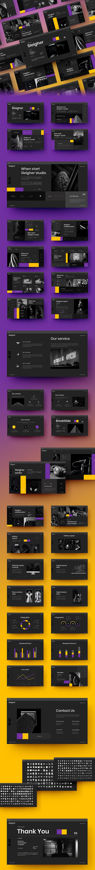 Sleigher – Business PowerPoint Template