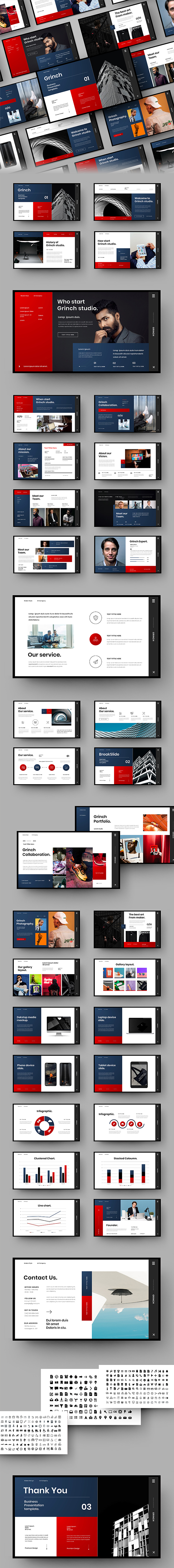 Grinch – Business PowerPoint Template