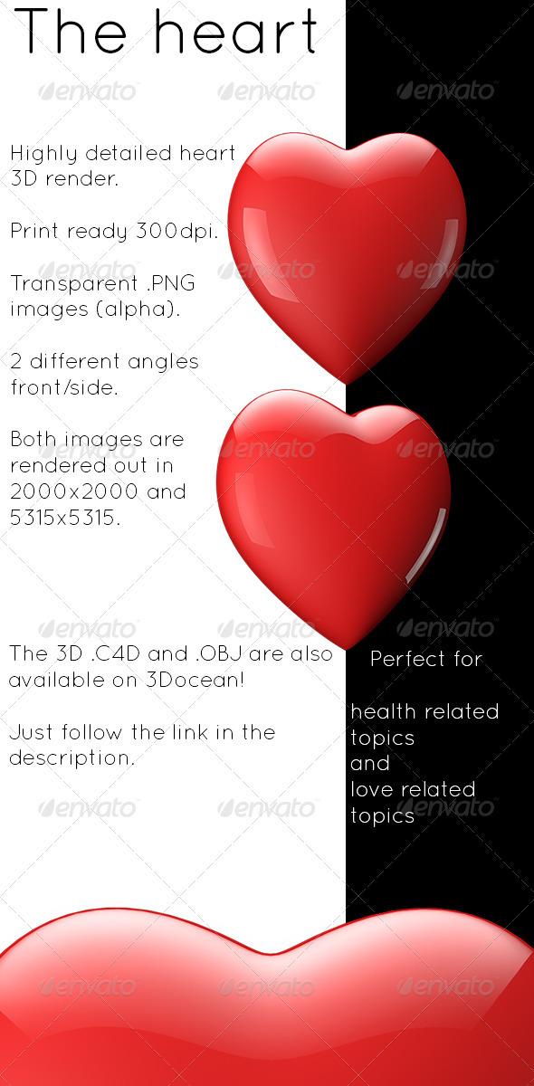Heart - Objects 3D Renders
