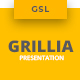 Grillia - Restaurant Google Slides Template