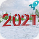 2020 New Year Logo - VideoHive Item for Sale