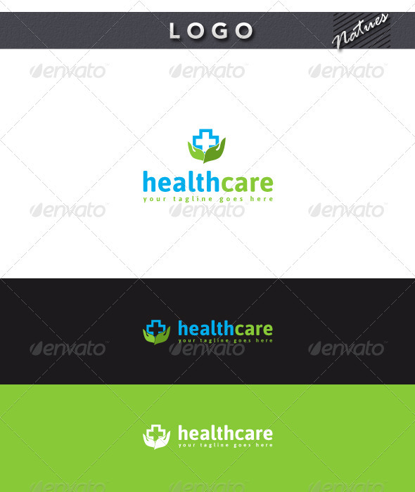 Health Care Logo - Nature Logo Templates