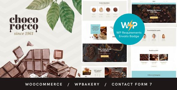 ChocoRocco | Chocolate Sweets & Candy Store WordPress Theme